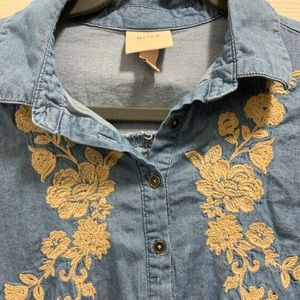 Denim Knox Rose Blouse